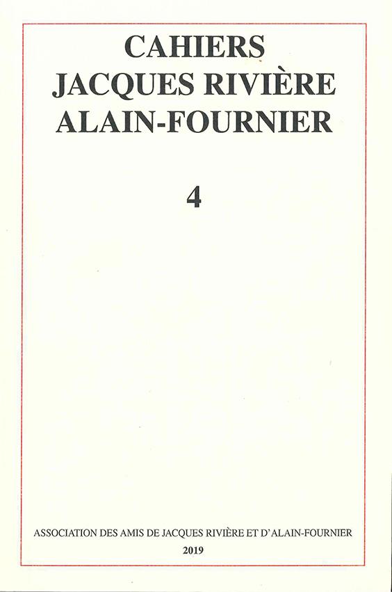 cahiers riviere alain-fournier n°4