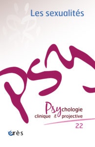 PSYCHOLOGIE CLINIQUE ET PROJECTIVE
