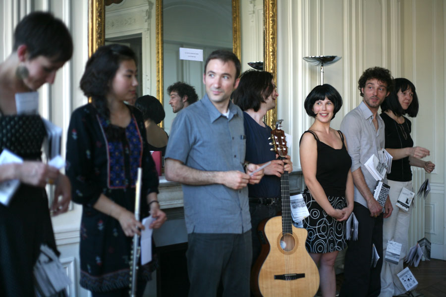 Julien Derôme, Michela Orio et musiciens