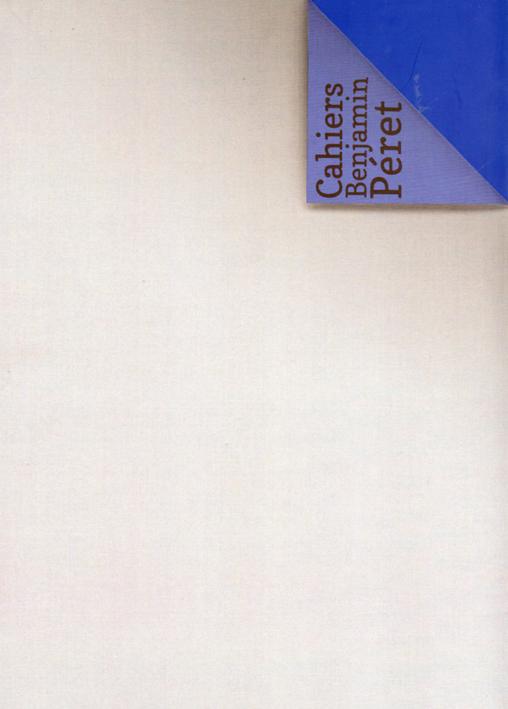 Cahiers Benjamin Péret n° 5