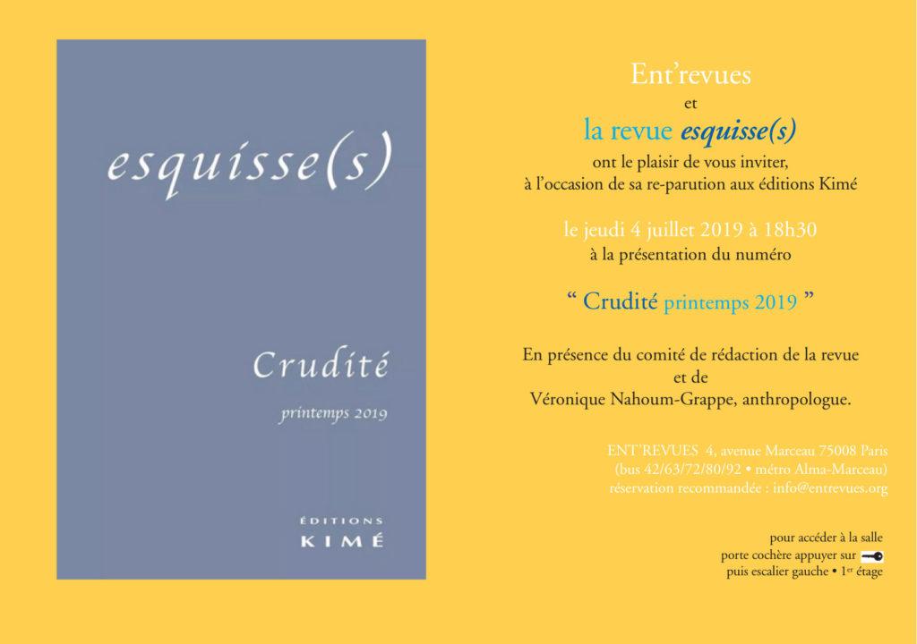 esquisse(s)19